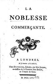 La noblesse commerçante