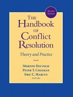 The Handbook of Conflict Resolution PDF