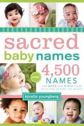 Sacred Baby Names