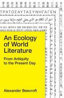 An Ecology of World Literature PDF