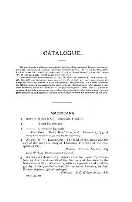 Catalogue of the Private Library of Mr  George S  Davis PDF