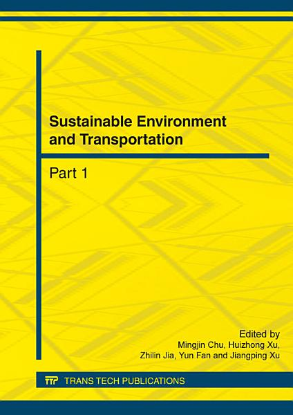 Download Sustainable Environment and Transportation Book