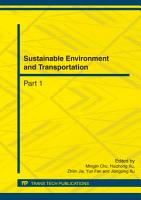 Sustainable Environment and Transportation PDF