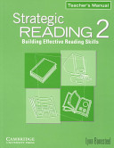 Strategic Reading 2 Teacher s manual PDF