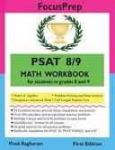 PSAT 8 9 Math Workbook Book