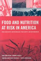 Food and Nutrition at Risk in America PDF