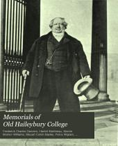 Memorials of Old Haileybury College