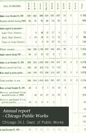 Annual Report - Chicago Public Works: Volume 14