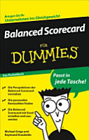 Balanced scorecard f  r Dummies PDF