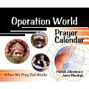 Operation World Prayer Calendar