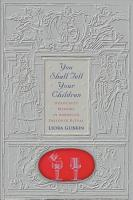 You Shall Tell Your Children PDF