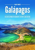 Gal  pagos  An Encyclopedia of Geography  History  and Culture PDF