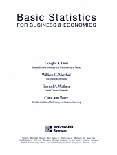 Basic Statistics for Business   Economics