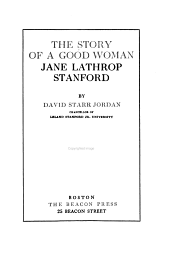 The Story of a Good Woman