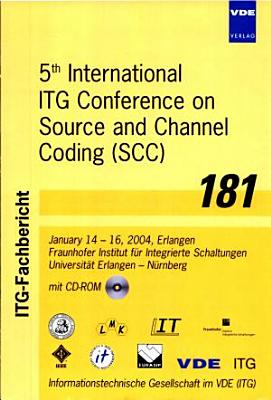 Fifth International ITG Conference on Source and Channel Coding (SCC)