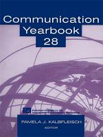 Communication Yearbook 28 PDF