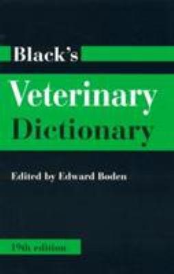 Black s Veterinary Dictionary PDF