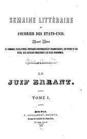 Le juif errant: Volumes1à2