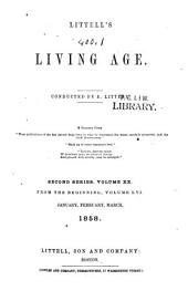 The Living Age: Volume 56
