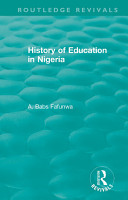 History of Education in Nigeria PDF