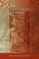 The Question of Sacrifice PDF