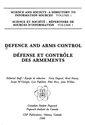 Defence and Arms Control PDF