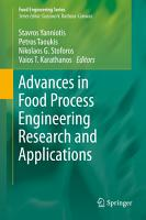 Advances in Food Process Engineering Research and Applications PDF