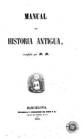 Manual de historia antigua