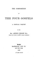 The Composition of the Four Gospels PDF