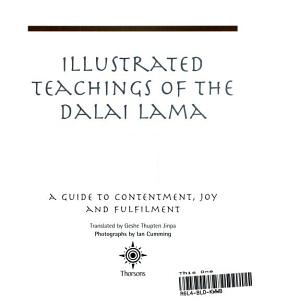Illustrated Teachings of the Dalai Lama