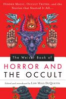 The Weiser Book of Horror and the Occult PDF