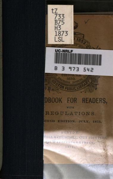 Download Handbook for Readers Book
