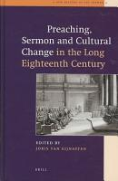 Preaching  Sermon and Cultural Change in the Long Eighteenth Century PDF