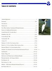 Constructed wetlands for wastewater treatment and wildlife habitat: 17 case studies