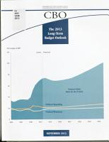 The 2013 Long term Budget Outlook PDF