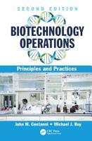 Biotechnology Operations PDF