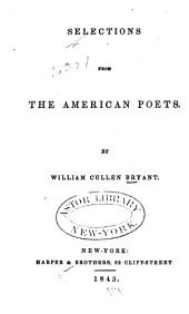 Selections from the American Poets
