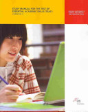 Study Manual for the Test of Essential Academic Skills  TEAS