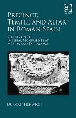 Precinct, Temple and Altar in Roman Spain