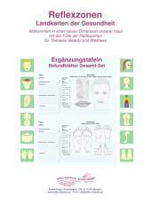 9 - Reflexzonen Befundblätter Gesamtset: Reflexzonen - Ergänzungstafeln für die Naturheilkunde und Physiotherapie