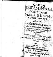 Novum Testamentum Graece & Latine