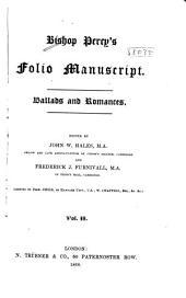 Bishop Percy's Folio Manuscript: Ballads and Romances, Volume 2