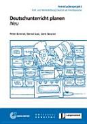 18  Deutschunterricht planen   Buch mit DVD PDF