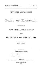 Annual Report of the Board of Education: Volume 56