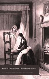 Poetical Remains of Lucretia Davidson