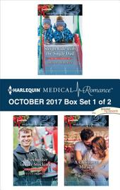 Harlequin Medical Romance October 2017 - Box Set 1 of 2: Sleigh Ride with the Single Dad\A Firefighter in Her Stocking\A Christmas Miracle