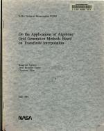 On the Applications of Algebraic Grid Generation Methods Based on Transfinite Interpolation PDF