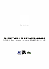 Conservation of Shalamar Garden PDF