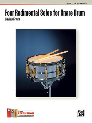 Four Rudimental Solos for Snare Drum PDF