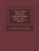 A New Variorum Edition of Shakespeare PDF